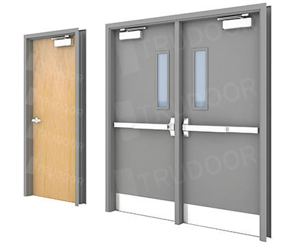Commercial Steel & Wood Doors