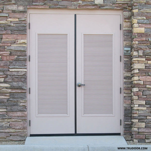 Vented Doors & Vented Doors Louvered Interior Door False