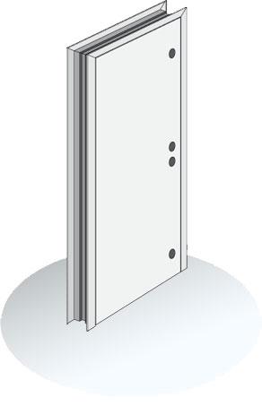 Maximum duty hollow metal doors 14 gauge steel door for 14 gauge steel door