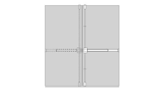 Pair of Doors without Mullion