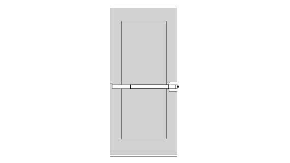 Exit Device for Single Door