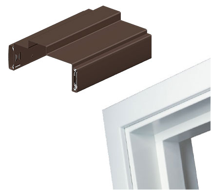 prefinished steel door frames