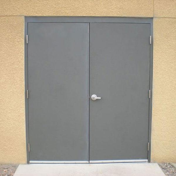 Hollow Metal Door : Flush commercial hollow metal doors