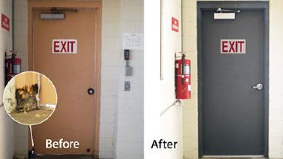 Commercial Metal Door Pricing : Commercial steel doors hollow metal fire rated