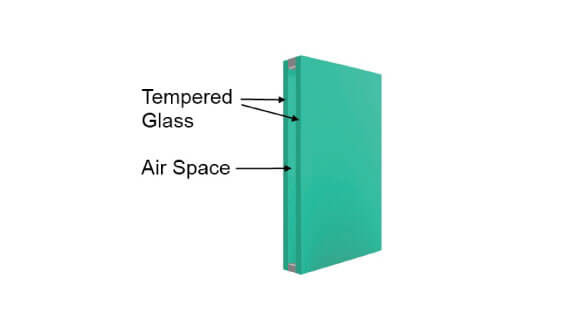 Insulated Glass for Metal Doors