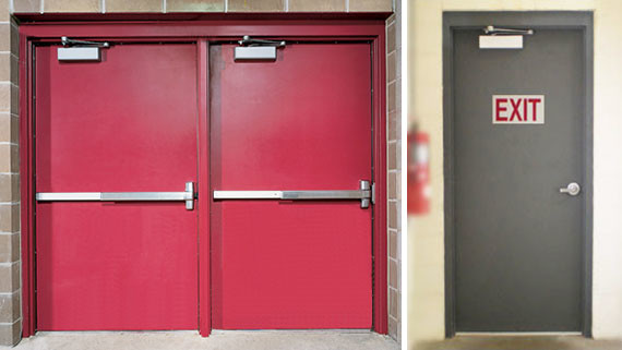 Fire-Rated Steel Doors