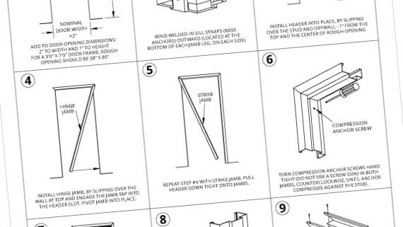 Installation Instruction Guides