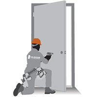 Commercial Door Installation Support