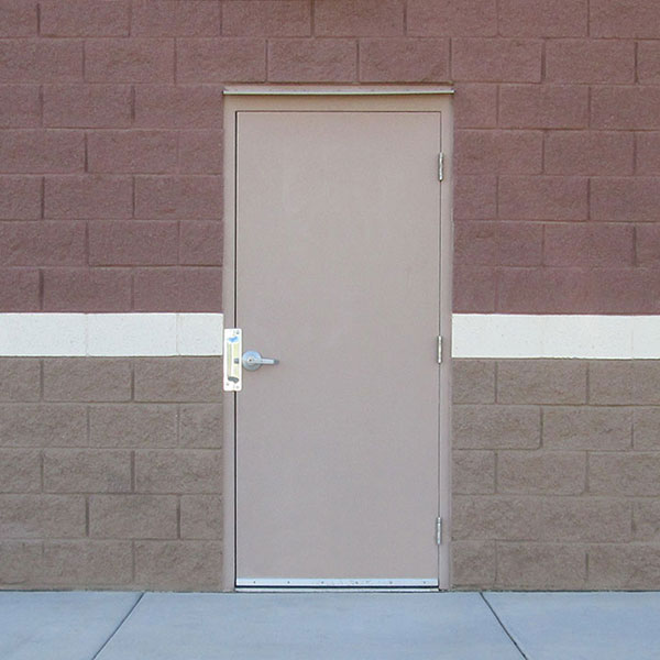 Exterior Commercial Steel Door