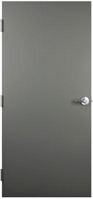 Flush Metal Door & Flush Commercial Hollow Metal Doors Industrial Steel Doors