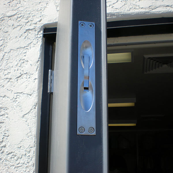Commercial Steel Double Doors Hollow Metal Door Pair