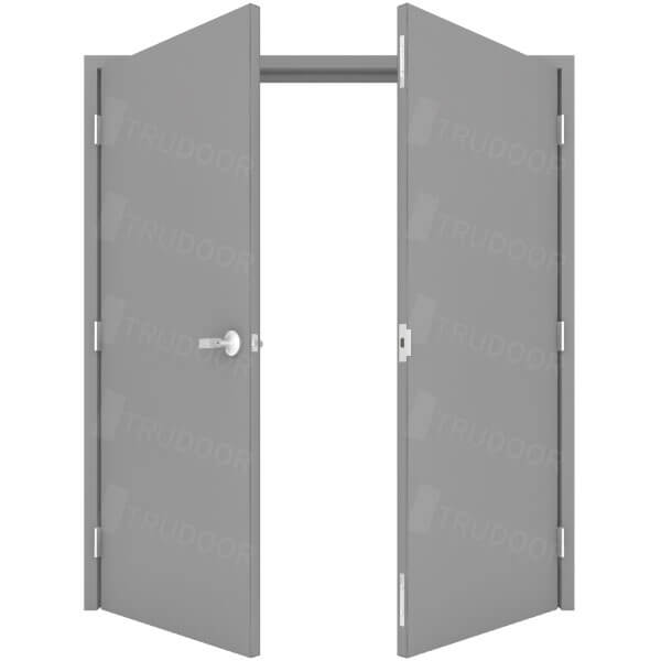Double Doors  sc 1 st  Trudoor & Commercial Steel Double Doors | Hollow Metal Door Pair