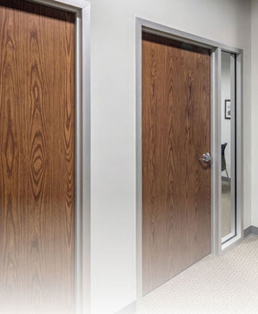 Low Cost Prefinished Commercial Wood Doors