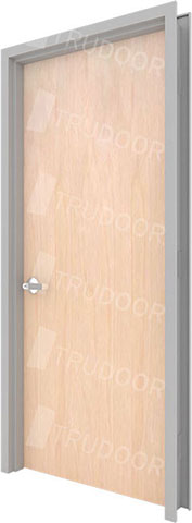 Prefinished Solid Core Commercial Wood Door