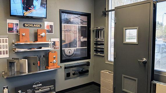 Commercial Door And Hardware Showroom In Phoenix Az