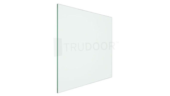 Clear Tempered Glass for Metal Doors