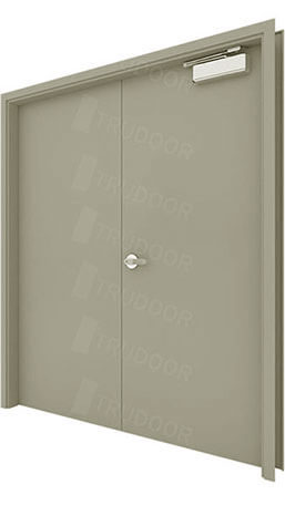 Hollow Metal Double Doors