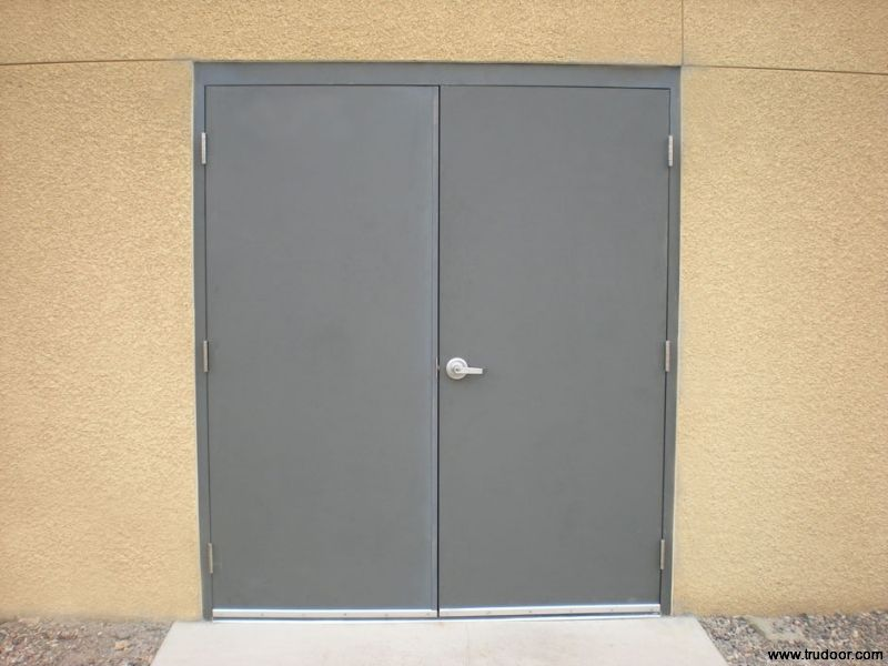 Double Steel Doors : Security screen doors double steel