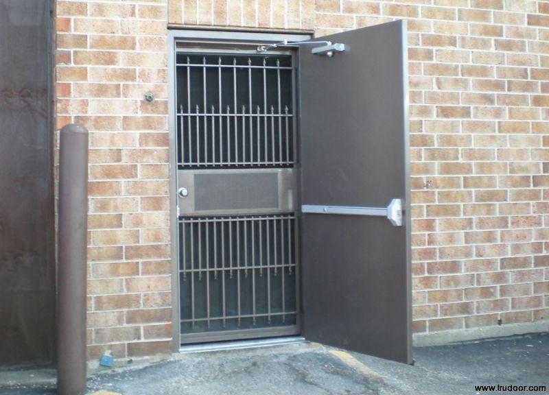 Steel Door W Panic Bar