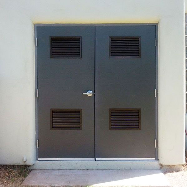 Hollow Metal Doors With Louvers Doors With Vents