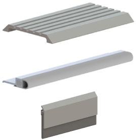 Commercial Door Thresholds and Seals  sc 1 st  Trudoor & Commercial Door Weatherization - Thresholds Weatherstrip Sweeps