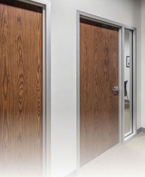 Prestained Commercial Wood Doors