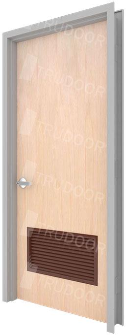 Commercial Wood Doors : Commercial wood doors with louver vents