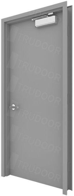 Hollow Metal Door : Flush commercial hollow metal doors industrial steel