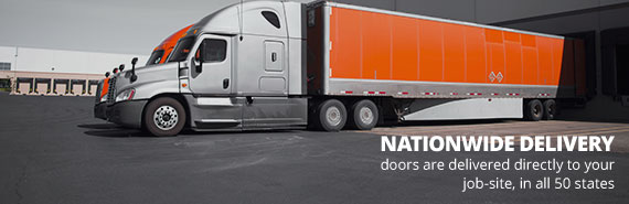 Commercial Doors Delivered to all 50 States