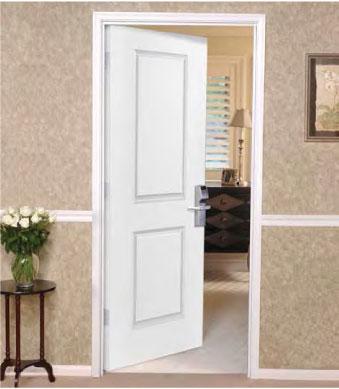 2 Panel, 6 Panel Solid Core Wood Doors